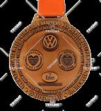 Bespoke medal – example M.BIEG01 1