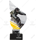 Trophy from plexy on a platform – snowboard CP01-M/SNO1 1