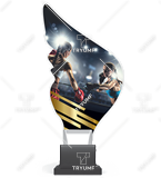Trophy from plexy on a platform - BOX CP01/BOX 1