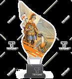 Trophy from plexy on a platform - Fire Brigade CP01/FIR1 1