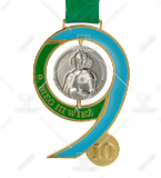 Bespoke medal – example M.BIEG76 1
