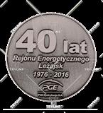 Bespoke medal – example M.JUB06 1