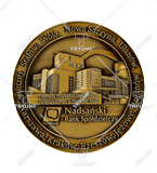 Bespoke medal – example M.JUB20 1