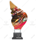 Trophy from plexy on a platform - FISHING CP01/FIS1 1