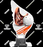 Trofeum z plexy na podwyższeniu - UNIHOKEJ CP01/FLO 1