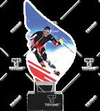Trophy from plexy on a platform – ski CP01-M/SKI2 1